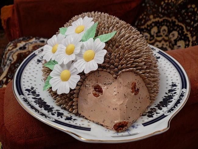 Торт полить карамелью фото 2