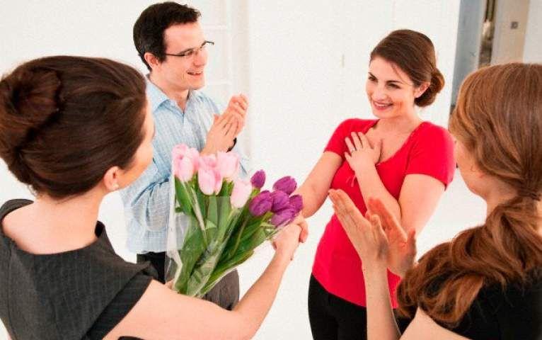 Поздравление мужчин женщинами в коллективе