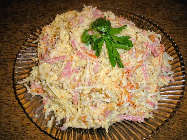 Рецепты недорогих и вкусных салатов с фотографиями 84
