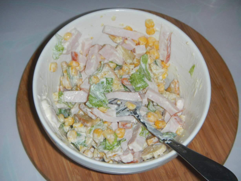Салат цветной рецепт пошагово