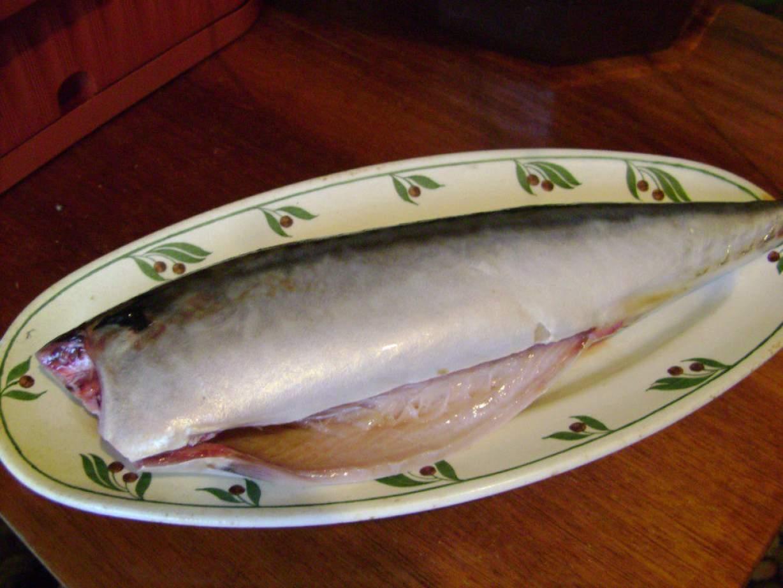 Как посолить скумбрию пошагово