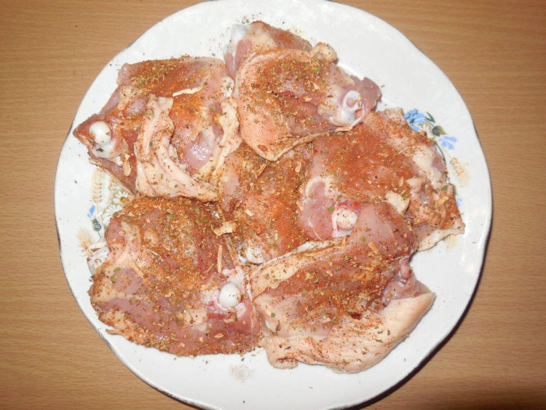 Бедра куриные в сметане рецепт