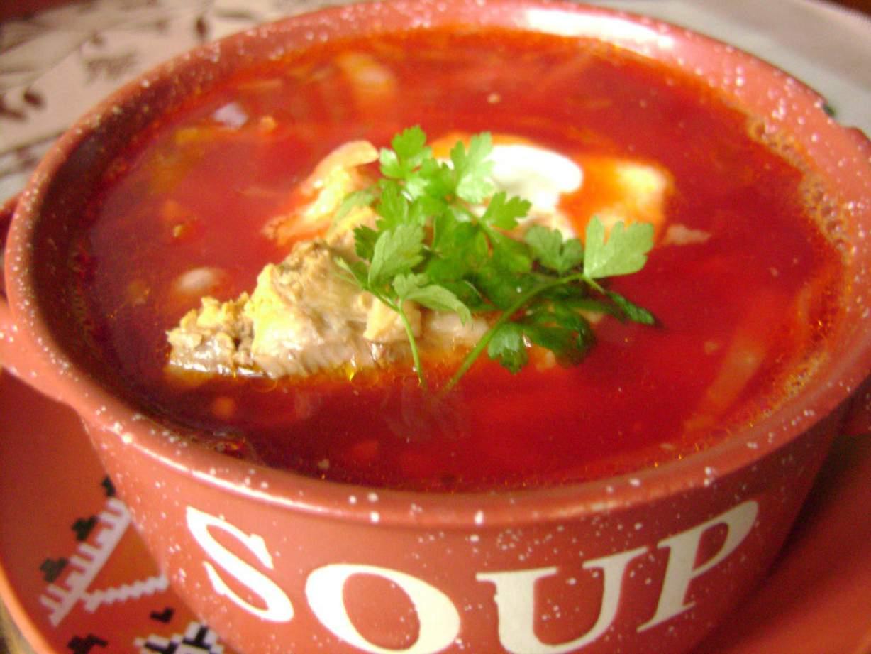 Рецепт вкусного борща с пошаговым фото