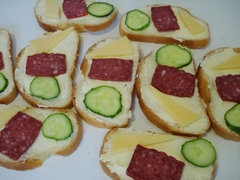 Дети горячие бутерброды фото