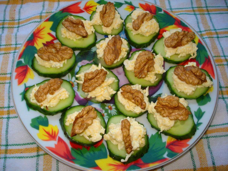 Праздничные закуски и пошаговым приготовлением