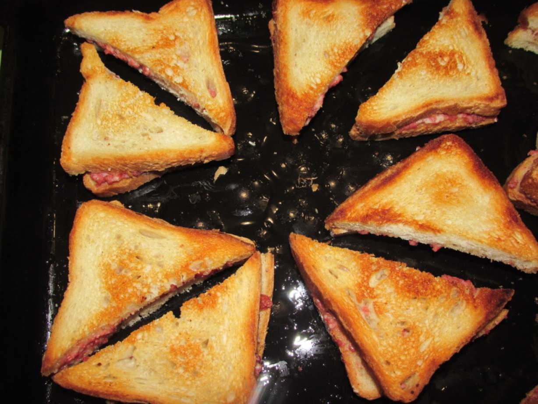 Горячие бутерброды подборка 124 рецептов пошаговых с фото 21
