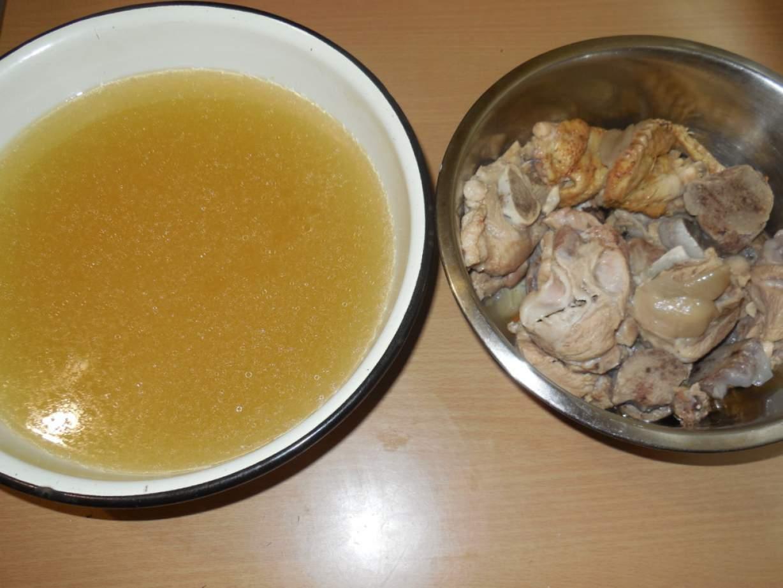 Холодец курицы без желатина рецепт фото пошагово