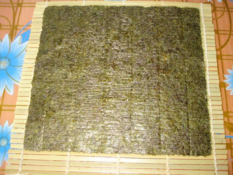 Готовим суши в домашних условиях В домашних условиях 58