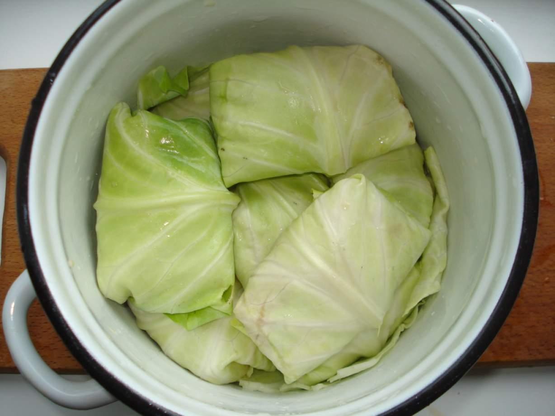 Как приготовить голубцы из капусты с фаршем фото пошагово