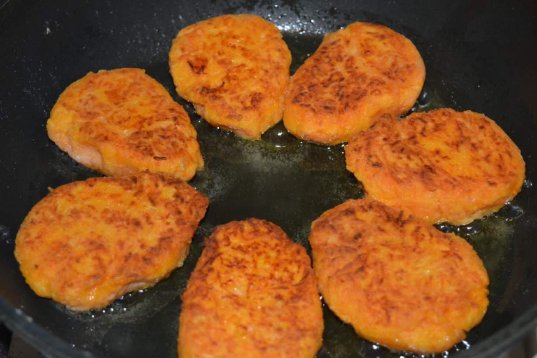 Котлеты из моркови рецепт с пошагово