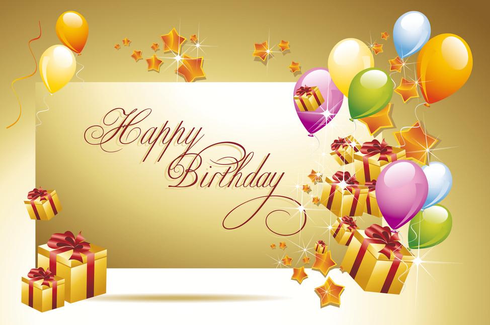 Поздравления друга с днем рождения на английском языке