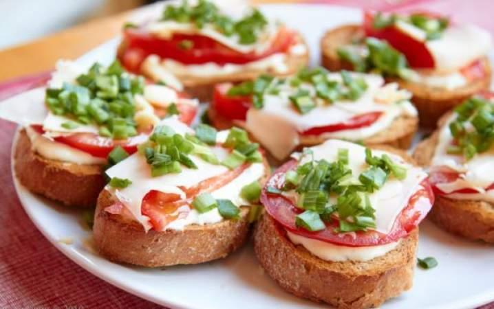 рецепти теплих бутербродів