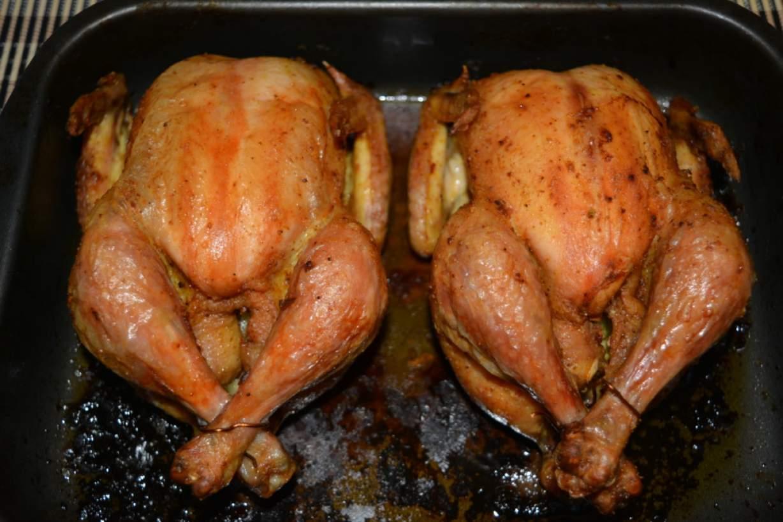 Запеченная курица целиком в духовке рецепт пошагово