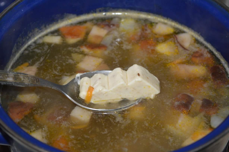 грибной суп из белых грибов видео