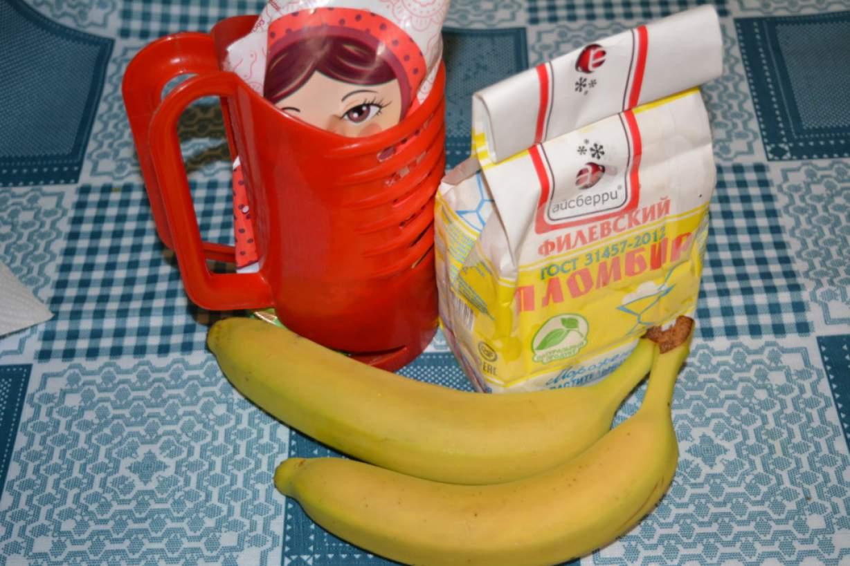 Как сделать коктейль из банана с молоком без блендера