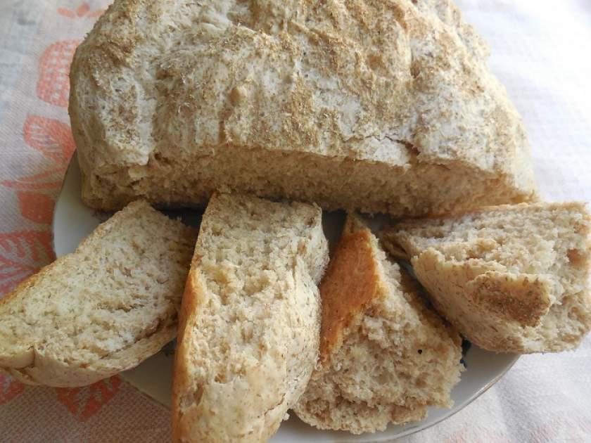 Хлеб в домашних условиях с отрубями 787