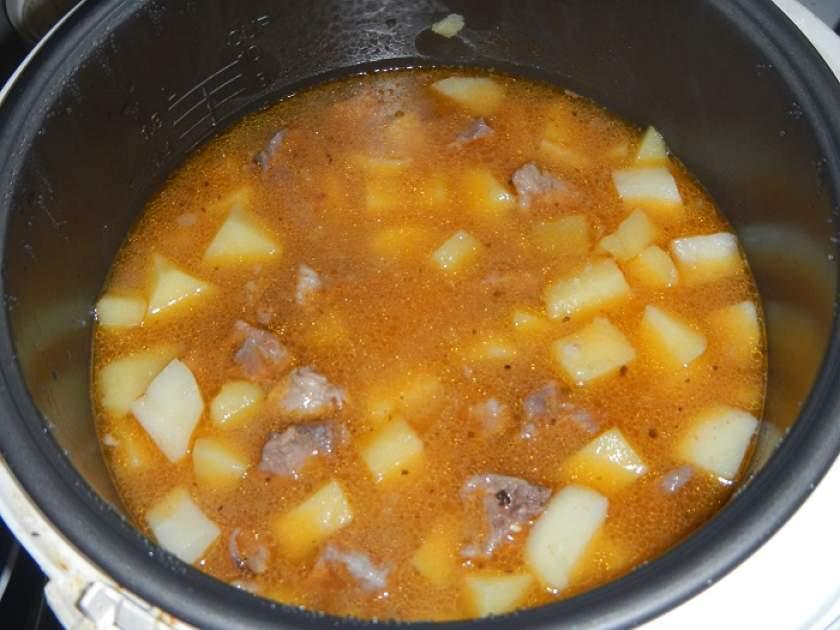 Тушить картошку пошагово