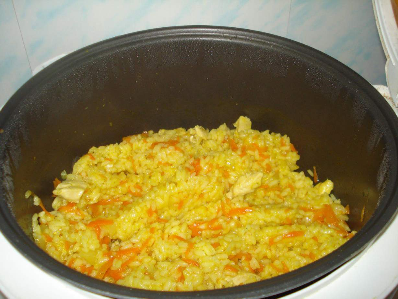 Вкусный плов в мультиварке с курицей рецепты пошагово