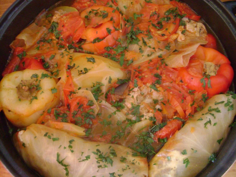 Голубцы готовые рецепт пошагово в сковороде